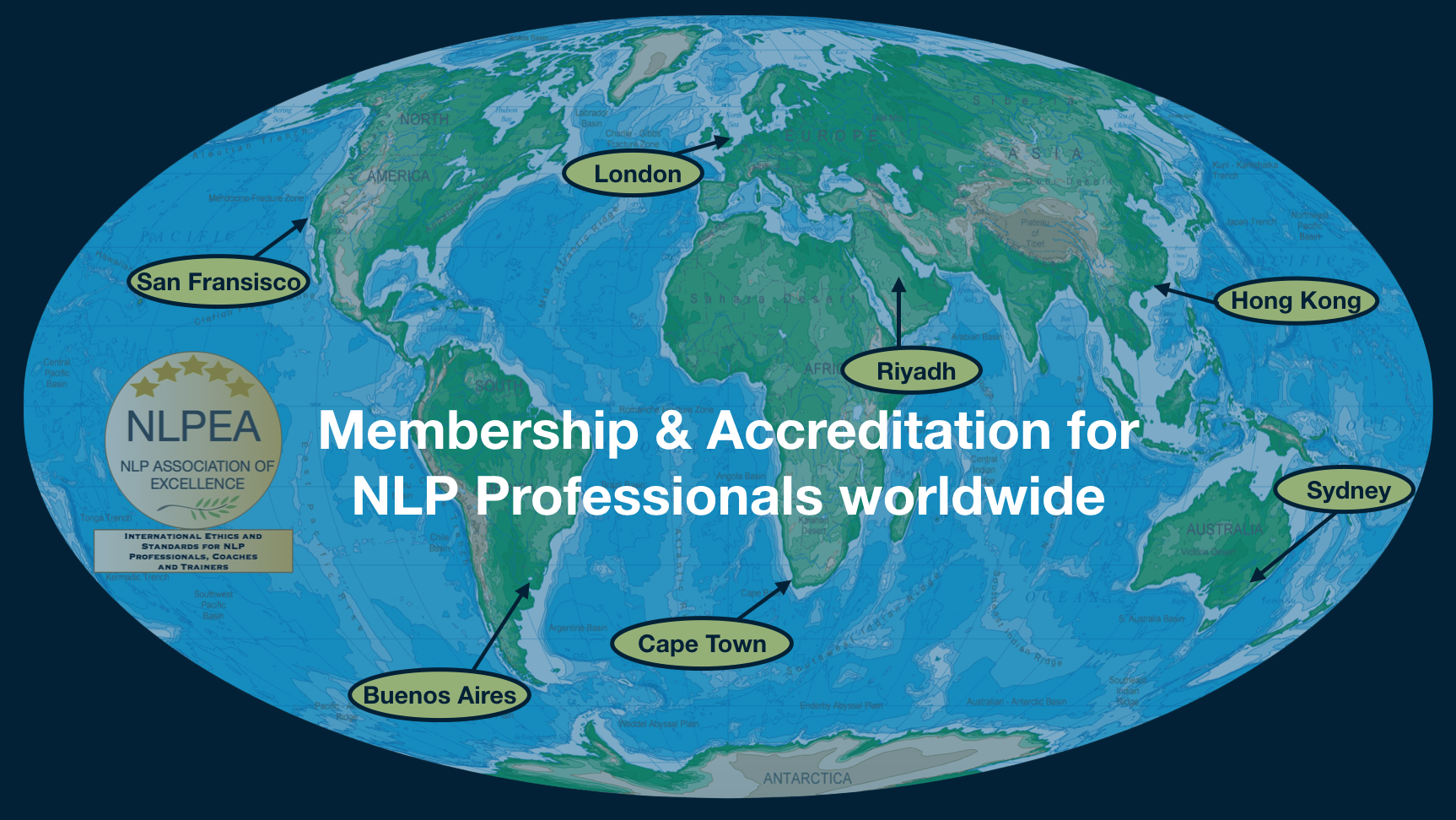 Membership & Accrediation for NLP Professionals worldwide