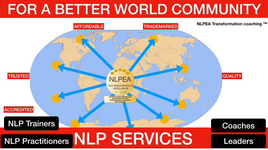 NLP and coaching - worldwide distribution of services