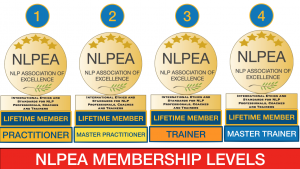 NLPEA - the four membership levels